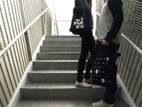 the Message Bag designed by TWELVEZEROSEVEN
