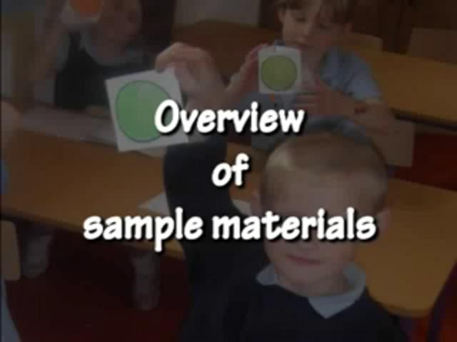 Overview Of The Sample Materials (1)
