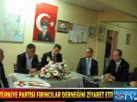 Türkiye Partisi Fırıncılar Ziyaret