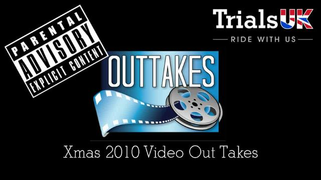 Trials UK Xmas 2010 Video Out Takes