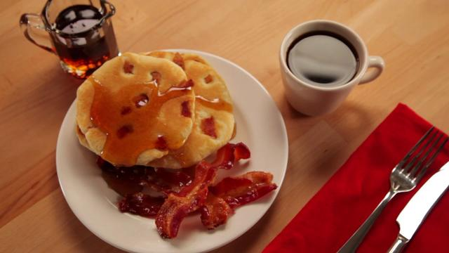 Beer and Bacon Mancakes - Betty Crocker's Red Hot Holiday Trends on ...