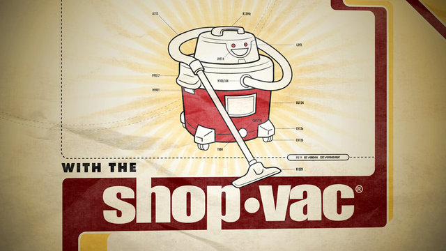 Thumbnail of video Shop Vac