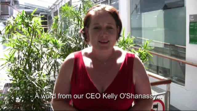 A special election word from our CEO, Kelly O'Shanassy