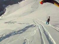 Cool Wingsuit Speedflying
