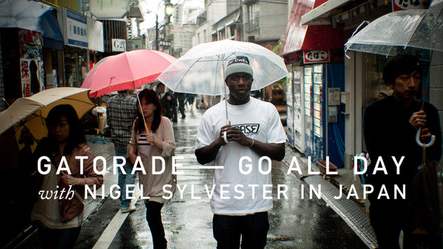 Video: Gatorade Go All Day – Nigel Sylvester in Japan