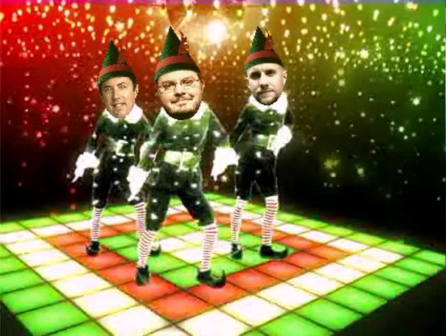 Paul Joy's HDSLR Elf boy band