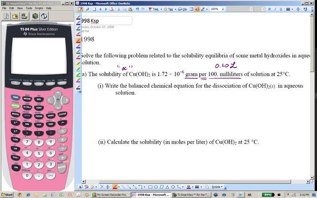 ap chemistry solubility equilibrium problems ksp part ii on vimeo. Black Bedroom Furniture Sets. Home Design Ideas
