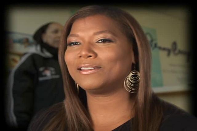 Queen latifah friends and family jenny craig spot