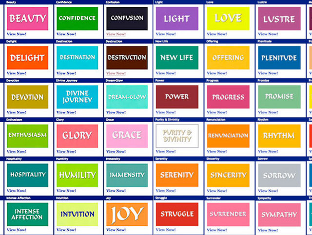Colors And Their Meanings Captivating With Colors and Their Meanings Image