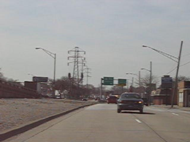 Driving down 8 mile road in detroit on vimeo