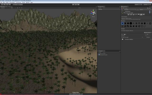 1 36 unity interface main terrain tools grass