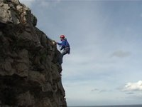 Self Rescue for Climbers - Abseiling Past a Knot