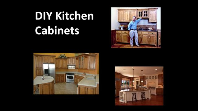 Happy Living - How to Make Your Own Kitchen Cabinets