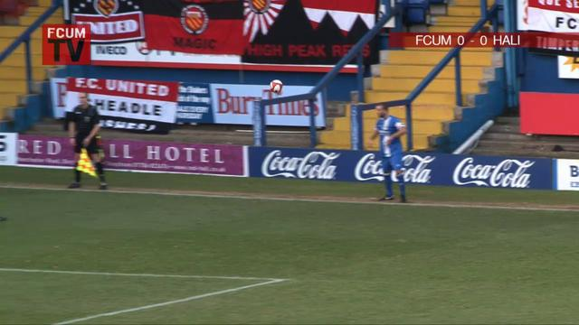 FC United vs Halifax Town 11/12/10 - Match Highlights