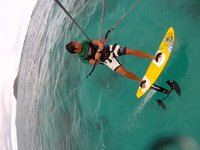 Super-Lightwind Hydrofoil Session with Gunnar
