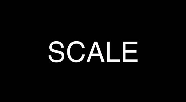 how to add scale in word