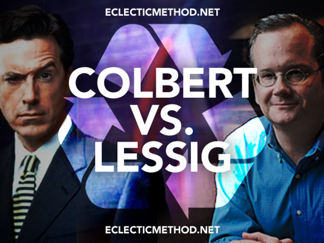 Colbert VS. Lessig (Aired: Jan 8th 2009)