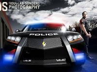 Carbon Motors E7 Police Car Photoshoot - Douglas Sonders Photography