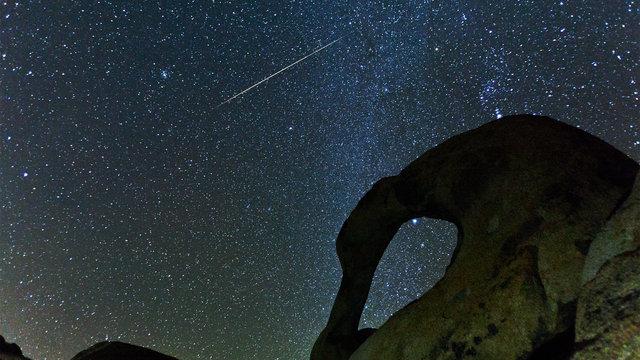 Fleeting Light - Geminid Meteor Shower