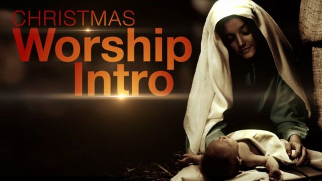 Christmas Worship Intro - Church Media - Service Opener - Sermon Videos