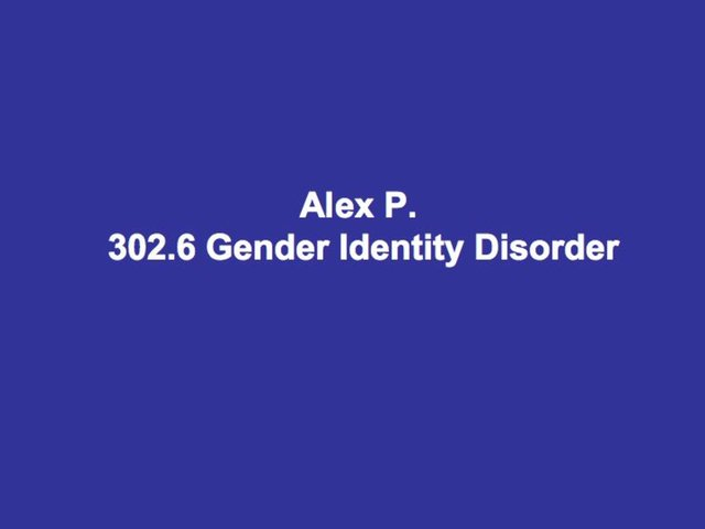 how gender identity disorder is not a disorder Test and improve your knowledge of sexual and gender identity disorders with fun multiple choice exams you can take online with studycom.