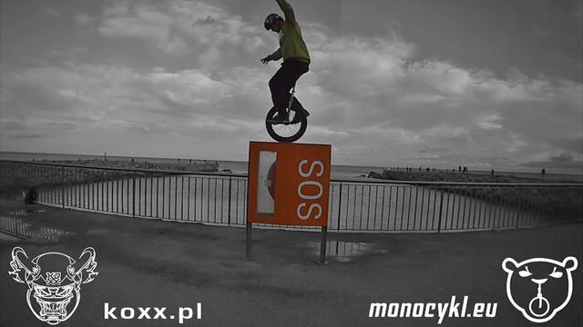 Monocykl - Citro w Barcelonie