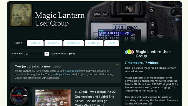 550D T2I Magic Lantern: Installing New Builds, Offical / ML in parallel, Deinstalling ML