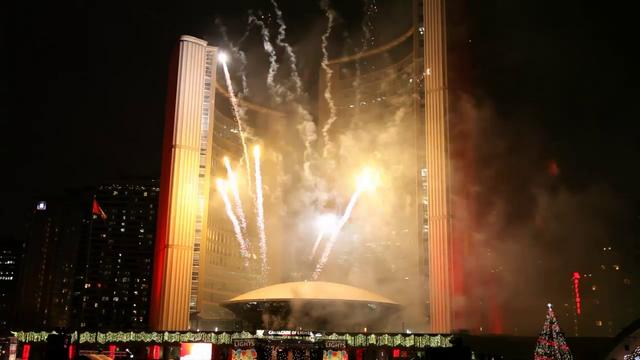 Cavalcade of Lights - Nathan Philips Square, Toronto, Sponsored by Scotiabank