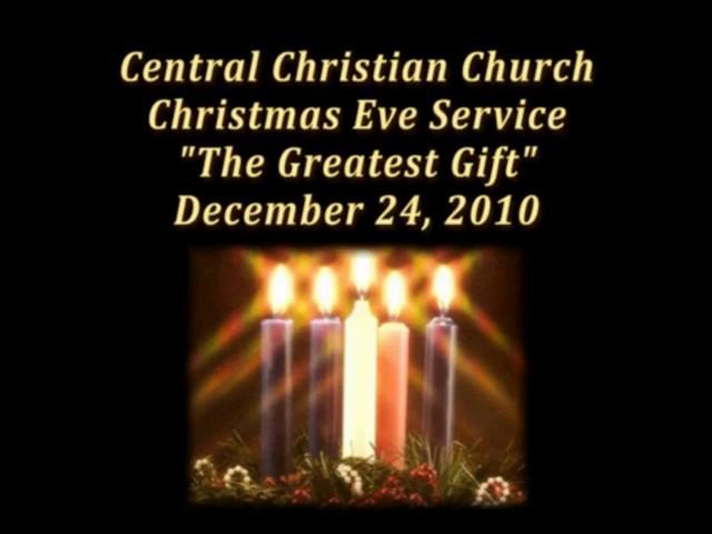 CCC Christmas Eve Service - December 24, 2010: vimeo.com/18164735