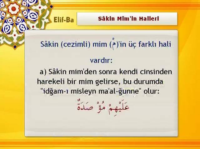 32 – Sâkin Mim'in Halleri