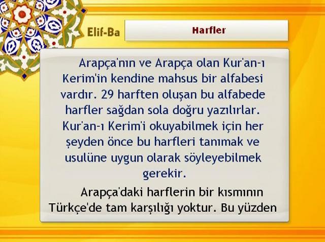 01 – Harfler