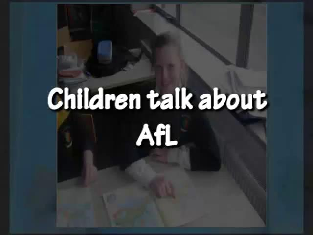 Children Talk About Afl
