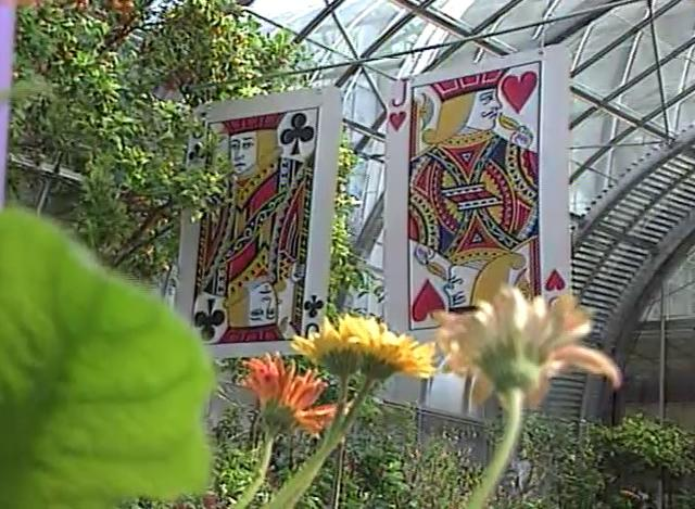 Inmate Gillispie's Flower & Butterfly Show Art (April 1999)