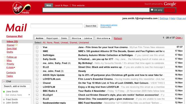 Virgin Media Webmail 47