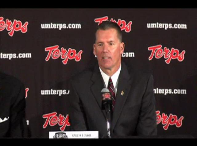 Press Conference >> Coach Randy Edsall Press Conference on Vimeo