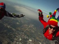 Chris and Line - Skydive DeLand