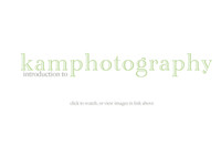 Introduction to kam photography