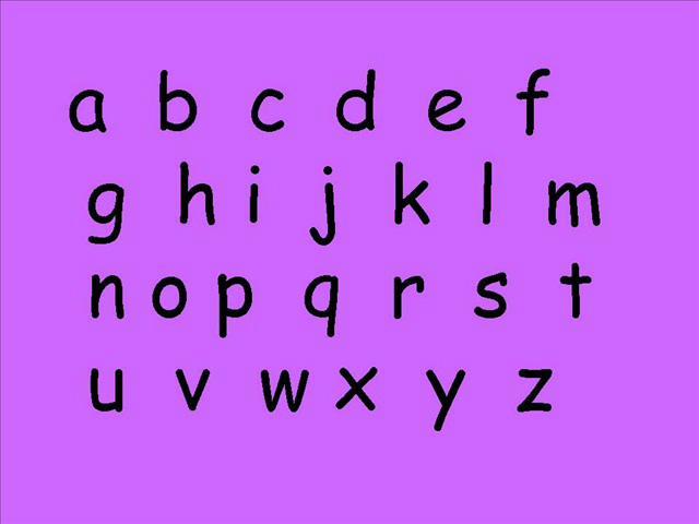 Alphabet Français- ABC's in French - on Vimeo