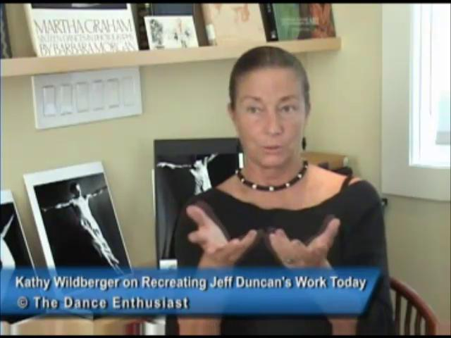 Kathy Wildberger Talks about Recreating the Work of Jeff Duncan