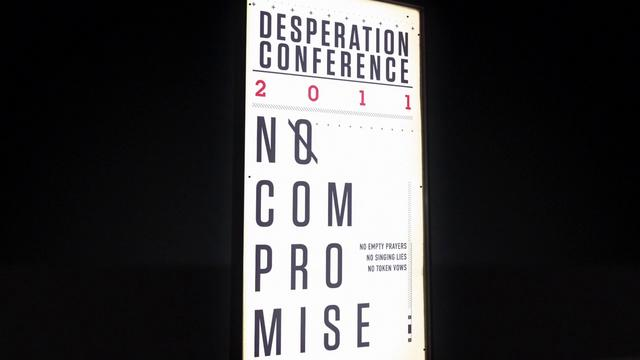 Desperation 2011 Conference - No Compromise