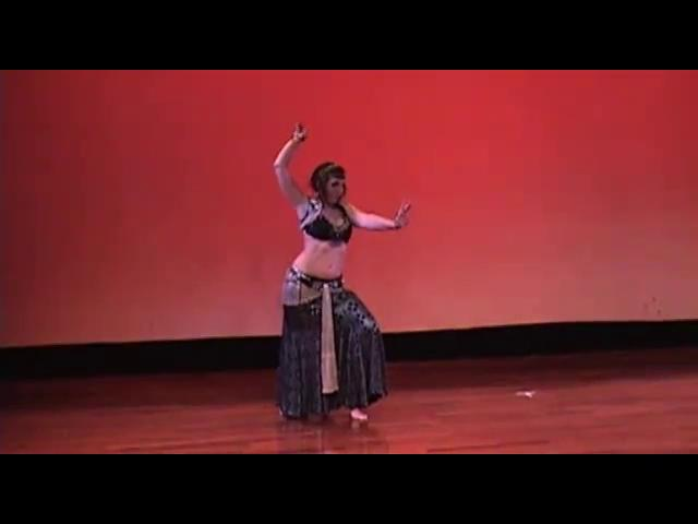 Martina performing at Beyond BellydanceII