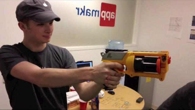 Nerf Gun Sharp Shooter