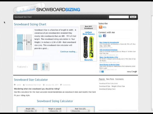 Snowboard Size to Height Chart Snowboard Height Size Chart