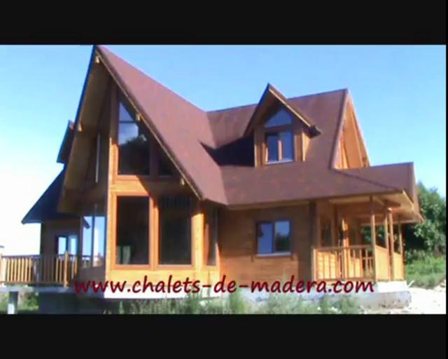 Casas de madera on vimeo - Casas para ninas de madera ...