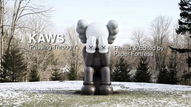 Video: KAWS COMPANION (Passing Through) at The Aldrich Contemporary Art Museum