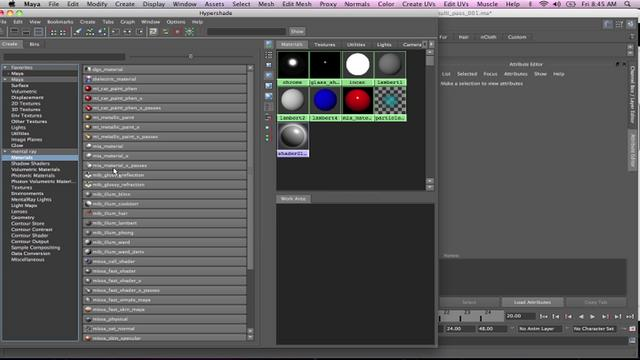 Introduction to Multi-Pass Rendering in MR - Maya 2011