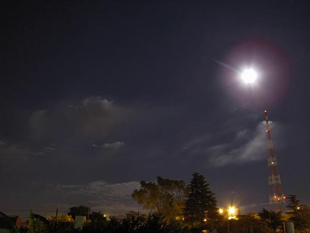 Eclipse timelap 21-12 Cordoba, Argentina