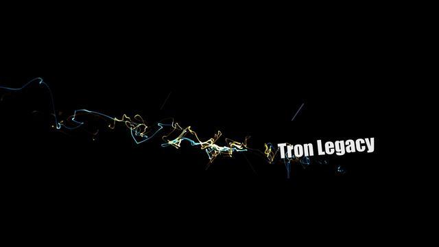 Tron Legacy Experimental Art on Vimeo