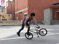 Jules and his bmx bike ballet