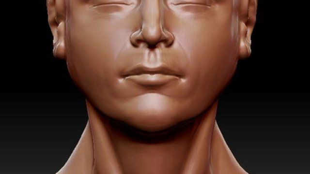 ZBrush - Speed Sculpt - Human Head